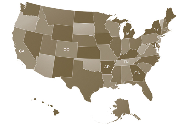 USA Map - v